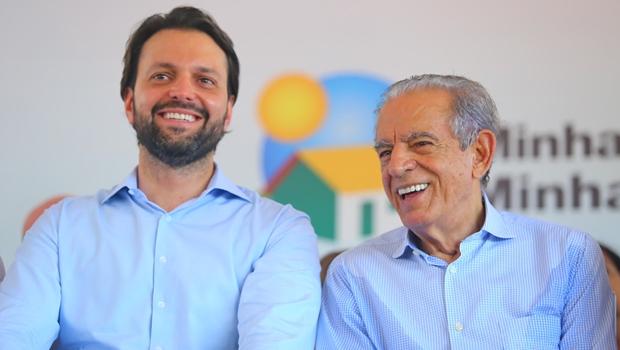 Baldy e Iris vistoriam retomada da obra do BRT de Goiânia