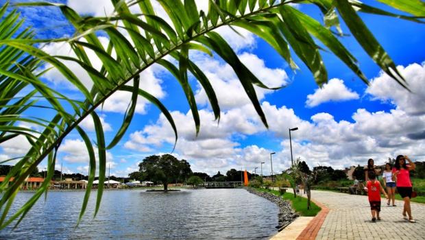 Marconi e Zé Elton inauguram Parque Ecológico em Ipameri