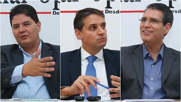 Heuler, Thiago e Francisco Júnior participam ativamente do Goiás na Frente