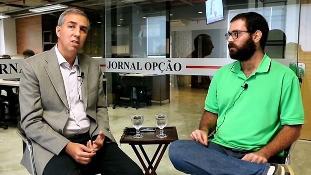 """Ninguém é candidato de si mesmo"", diz José Eliton"