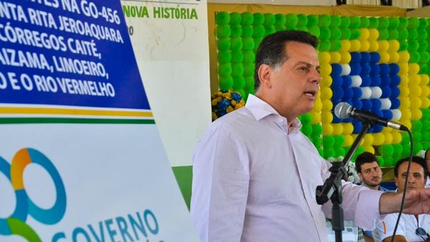 Governo inaugura cinco pontes em Faina com recursos do Goiás na Frente