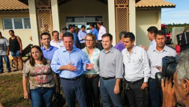 Em Caiapônia, Marconi entrega mais de R$ 6 milhões em obras