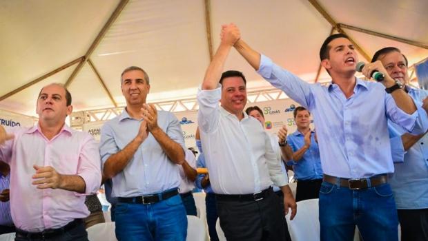 Marconi e Zé Eliton anunciam revitalização da Avenida Modesto de Carvalho em Itumbiara