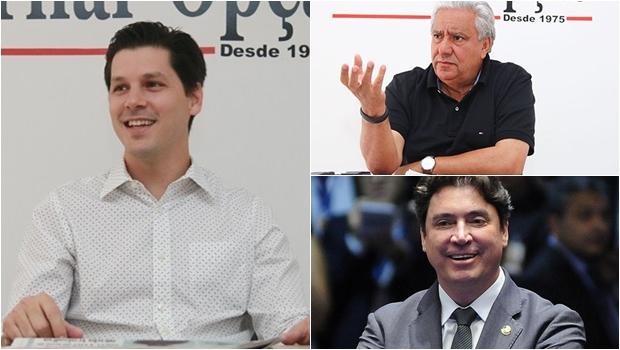 Vilmar Rocha e Wilder Morais podem ser candidatos a senador na chapa de Daniel Vilela