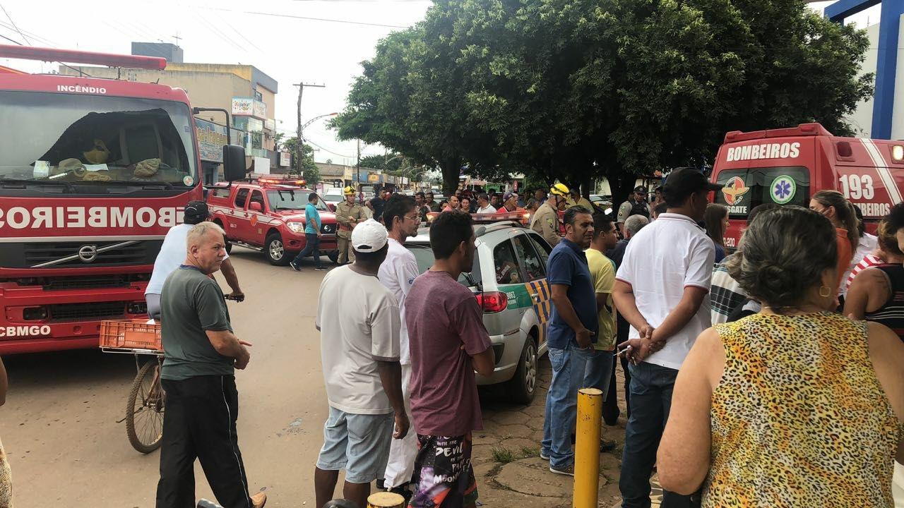 Mulher morre esmagada por elevador em Goiás