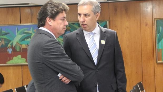 Wilder e Zé Eliton se reúnem em Brasília