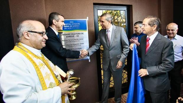 Zé Eliton inaugura novas instalações do HGG