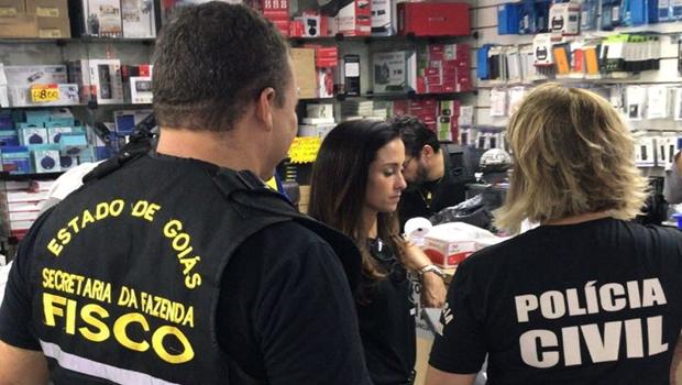 PC deflagra operação contra sonegação em venda de eletrônicos em Goiânia