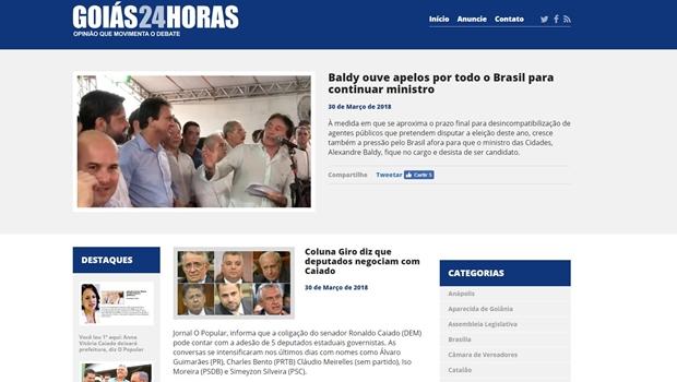 Goiás 24horas dá banho na concorrência