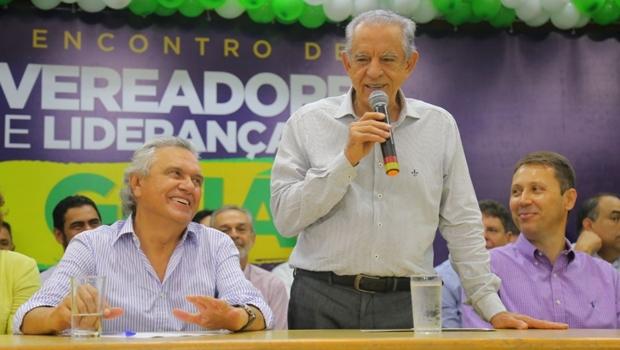 Caiado trata candidatura como certeza e diz contar com Iris para unir oposição