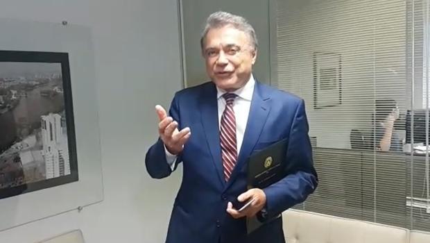 Presidenciável Alvaro Dias participa do Roda de Entrevista desta quarta-feira (14)