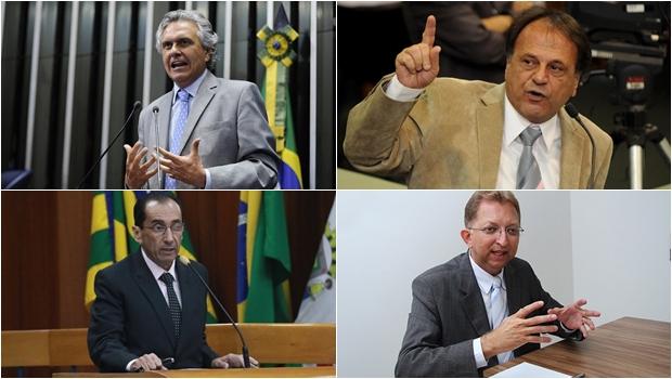 Caiado começa a montar chapa majoritária sem pensar em Daniel Vilela e no MDB