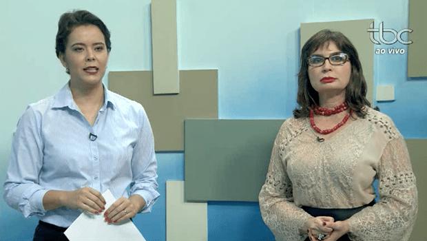 Ao vivo na nova TBC, promotora dá notícia em 1ª mão sobre afastamento de secretária