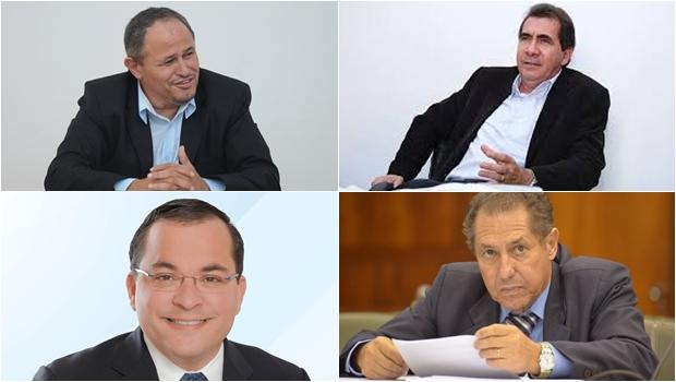 Se Antônio Gomide ficar fora da disputa, um quarteto fica forte em Anápolis