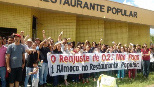 Funcionalismo de Catalão diz que aumento de Adib Elias não paga 1 almoço no Restaurante Popular