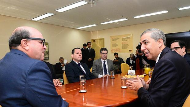 Ministério Público recebe visita de José Eliton que reafirma parceria com instituição