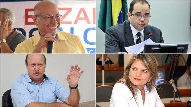 25 favoritos para deputado federal em Goiás na disputa de outubro de 2018