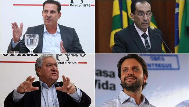 Daniel Vilela quer chapa com Vanderlan, Baldy, Vilmar Rocha e Kajuru