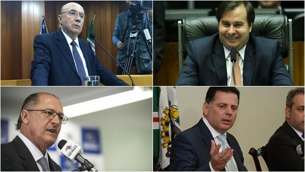 Alckmin quer fechar com Meirelles ou Rodrigo Maia pra vice. Mas sugere que Marconi pode ser a saída