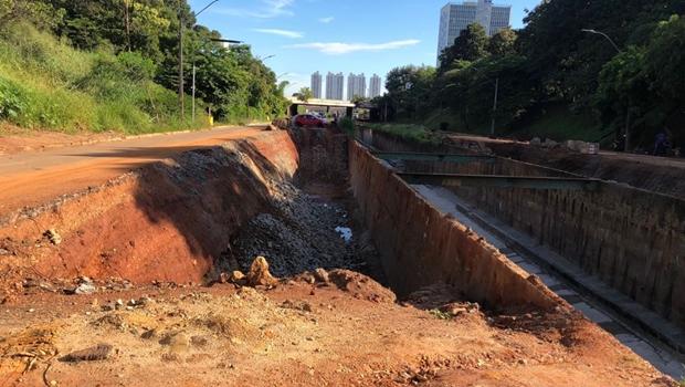 Prefeitura interdita novo trecho da Marginal Botafogo para realização de obras