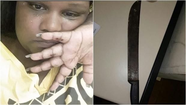 MC Carol denuncia ex-namorado por tentar matá-la com um facão