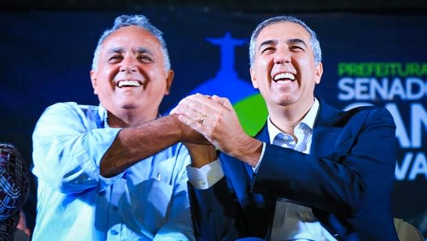 José Eliton entrega benefícios sociais e recebe título de cidadão de Senador Canedo