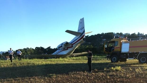 Avião do DJ Alok sai da pista durante decolagem em Minas Gerais