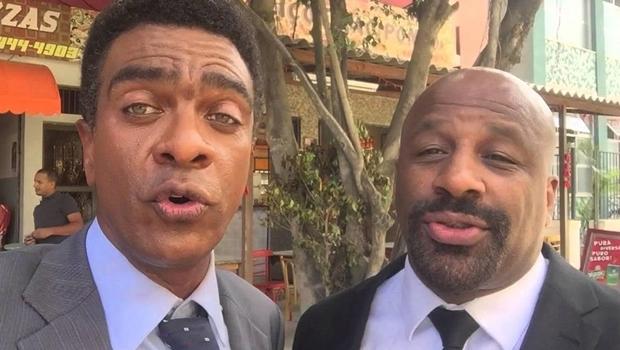 Ailton Graça e Hélio de La Peña lançam filme no Fica 2018