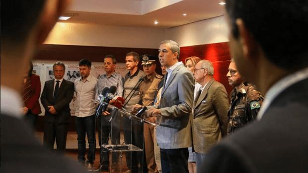 Forças de segurança estão prontas para garantir escolta a caminhões, diz governo de Goiás