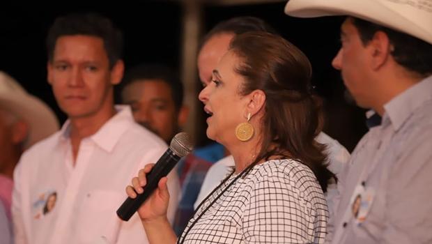 Em discurso, Kátia Abreu se diz pronta para governar Tocantins