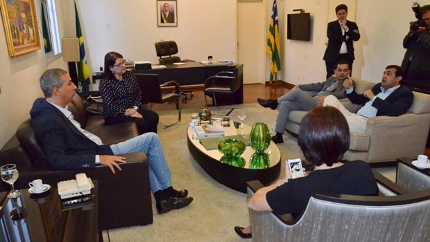 José Eliton recebe representantes da Rede e inicia tratativas para compor aliança