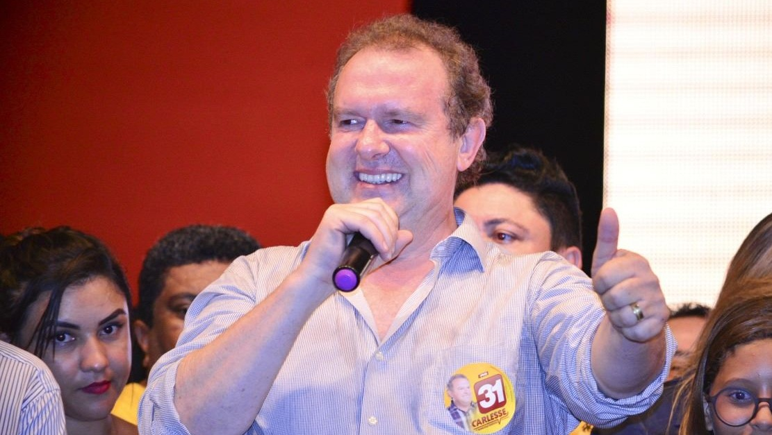 Pesquisa mostra vitória de Mauro Carlesse no primeiro turno no Tocantins