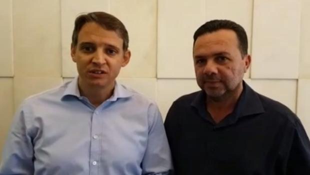 Recém-eleito, prefeito de Niquelândia pelo PSD firma parcerias com José Eliton