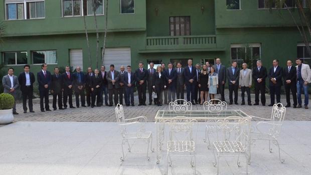 Nova diretoria da Fecomércio se reúne com José Eliton e presidente destaca conquistas