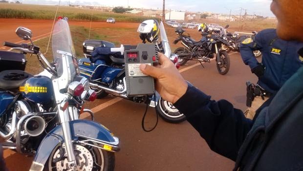 PRF autua mais de 100 motoristas por embriaguez ao volante neste fim de semana em Goiás