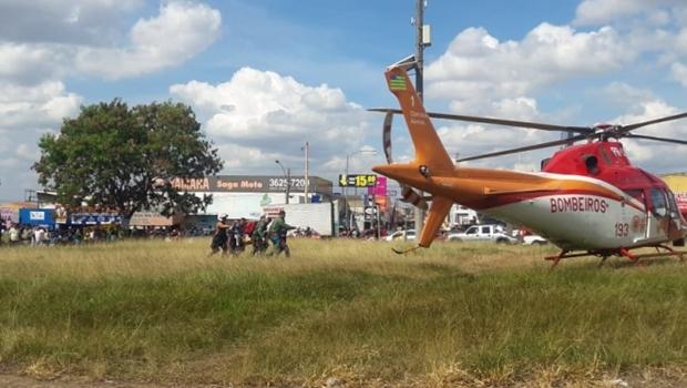 Idoso morre após ser atropelado na GO-040, em Goiânia