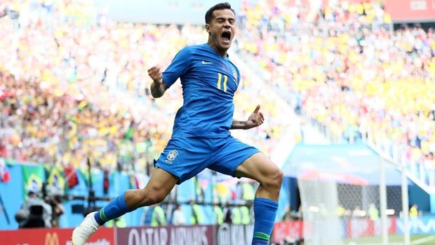 Brasil conquista primeira vitória no mundial com dois gols nos acréscimos