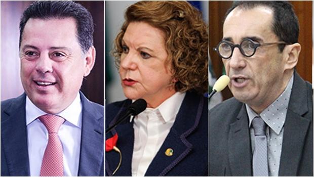 Pesquisa Realtime expõe empate técnico entre Marconi Perillo, Lúcia Vânia e Kajuru para o Senado