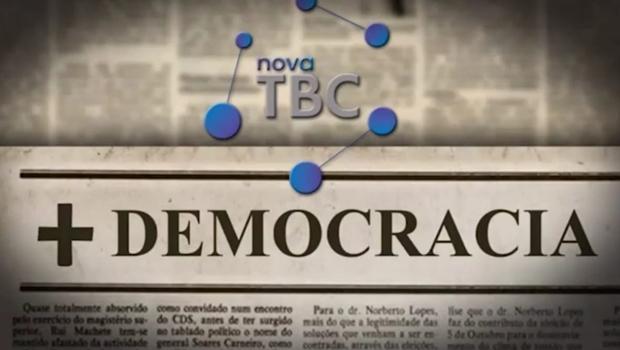 Nova TBC inova e lança campanha a favor da Democracia