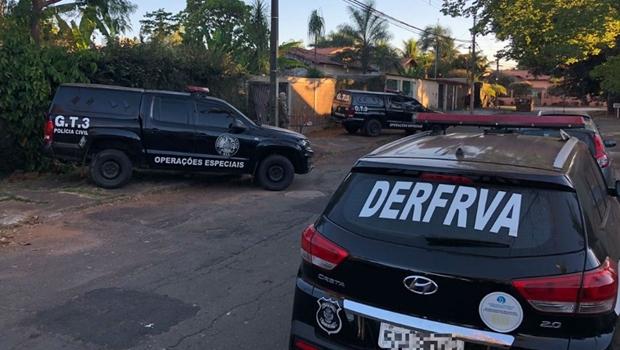 83354c29652 Operação da PC prende pessoas envolvidas em roubos de veículos em Goiânia