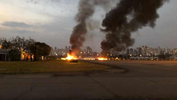 Nova queda de avião de pequeno porte deixa um morto e seis feridos