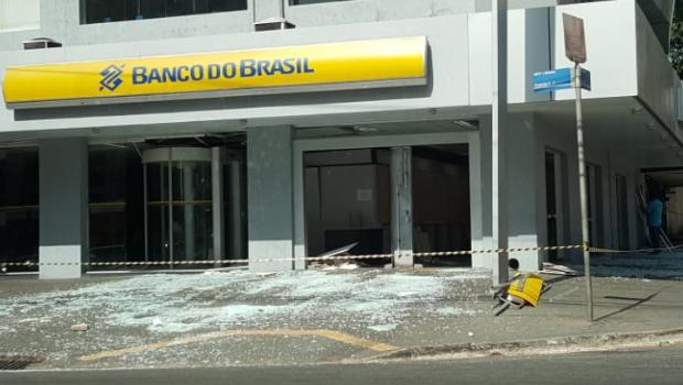 PM prende parte de quadrilha suspeita de explodir caixas em banco de Goiânia