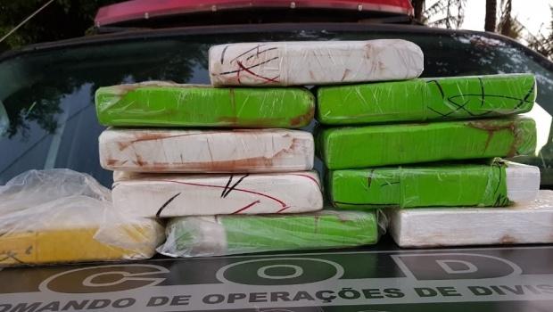 Mulher é presa em Goiânia por tráfico internacional de drogas