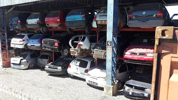 Lei do Desmanche: lojas de peças e desmontes precisam se cadastrar até o dia 31 de julho