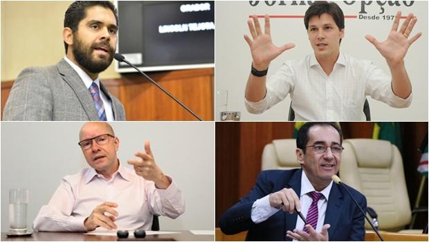 17 políticos que pretendem disputar a Prefeitura de Goiânia em 2020