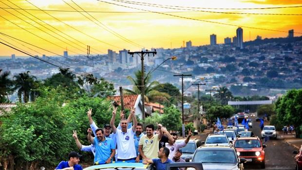 Carreatas da coligação Goiás Avança Mais percorrem mais 40 municípios neste sábado (25)