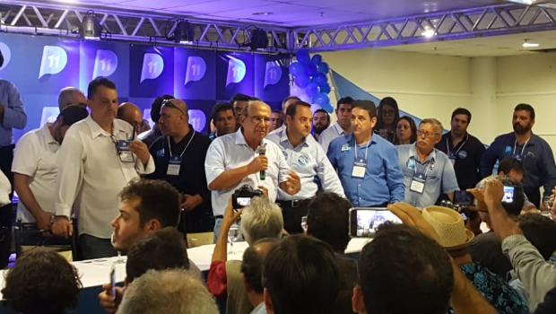 Indefinição de alianças causa confusão e mal estar entre lideranças na convenção do PP