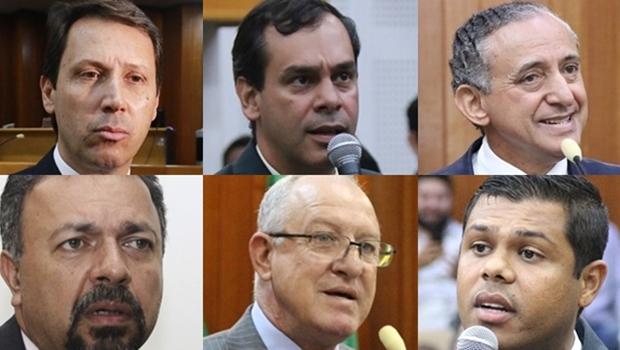 Peixoto, Policarpo e Anselmo tentam montar grupo para disputar Câmara de Goiânia