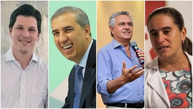 Confira agenda dos candidatos ao governo de Goiás para esta 3ª-feira (21)
