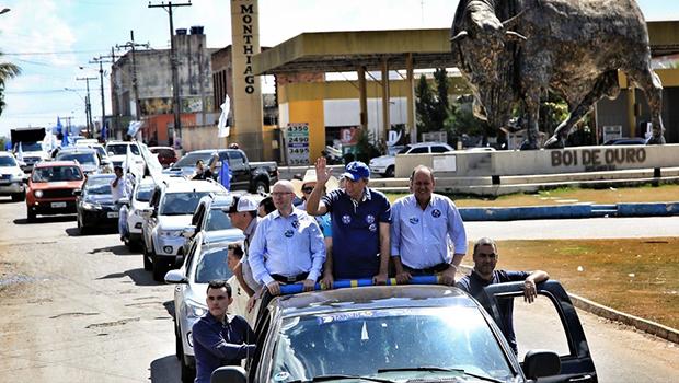 Coligação Goiás Avança Mais encerra final de semana com visita a 120 cidades